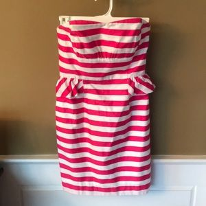 Lilly Pulitzer strapless dress size 00